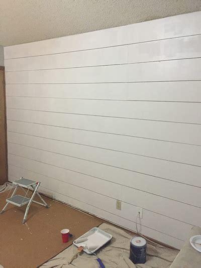 install pre painted shiplap metrie
