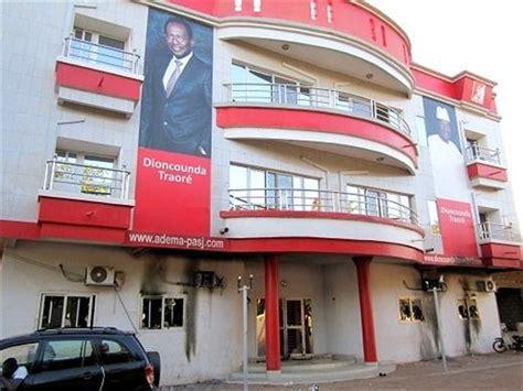 alpha telecom mali siege adema pasj vache laitière des partis politiques maliens