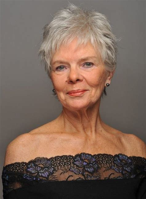 Easy Short Hairstyles for Women Over 60