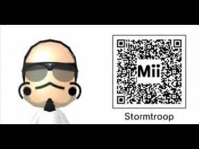 Nintendo 3DS Mii QR Codes