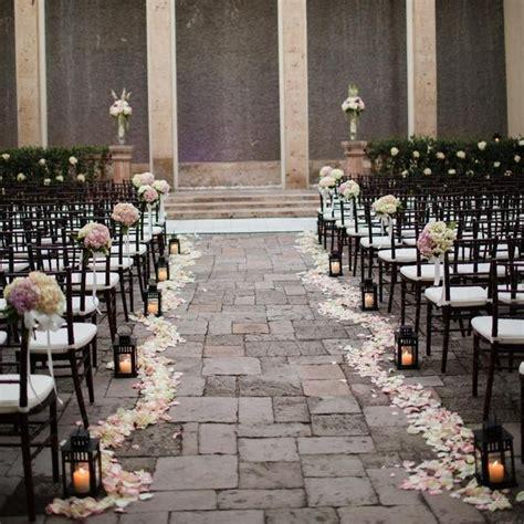 Romantic Outdoor Ceremony Decor Archetype Photography