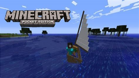 Boat Plans Minecraft by How To Build A Easy Boat In Minecraft Pe