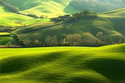 8k Nature Ultra Hills Italy Tuscany Field