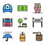 Icons Activities Outdoor Activity Vector