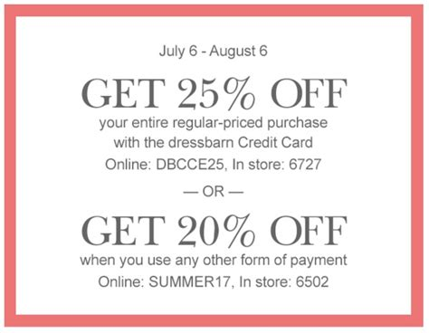 dress barn printable dressbarn coupons printable coupons in codes