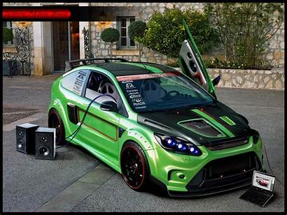 Focus Tuning Ford Rs Cars 3d Wallpapers