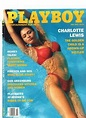 JULY 1993 PLAYBOY COVER ONLY SEXY CHARLOTTE LEWIS IN RED ...