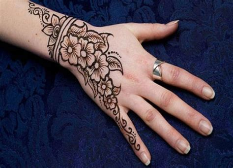 motif gambar henna simple unik   cantik