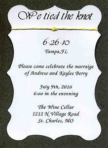 25 best ideas about reception only invitations on With the knot wedding invitation language