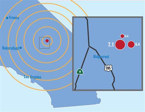 magnitude earthquake hits southern california marks