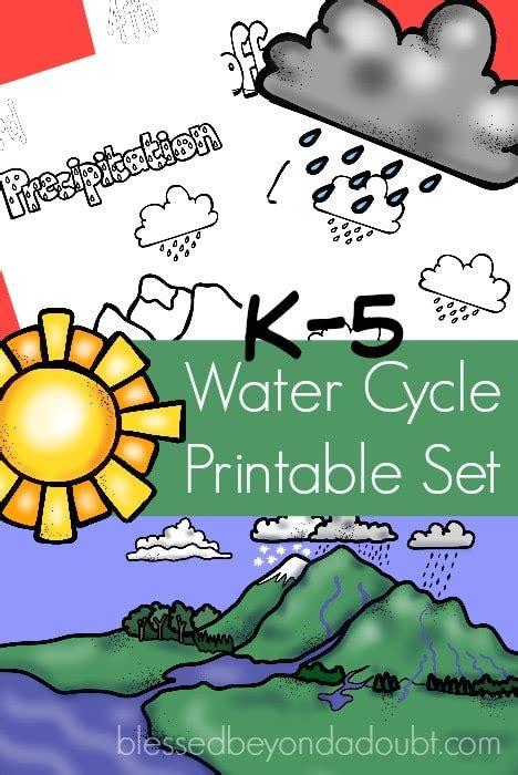 water cycle printables  homeschool deals