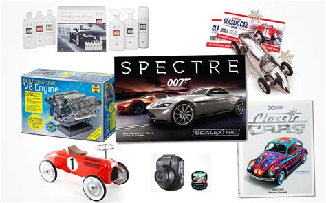 perfect christmas gifts for car enthusiasts and petrolheads