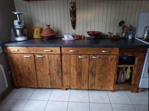 meuble de cuisine a faire soi meme cuisine bois fabriquer un meuble de cuisine en bois