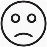 Emoji Face Sad Icon Expression Facial Frowning