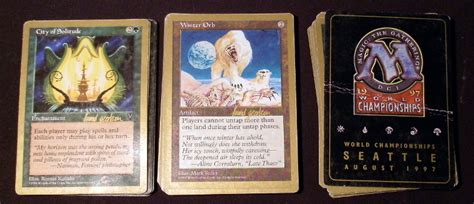 mtg world chionship decks 1996 1997 magic the gathering world chionship deck