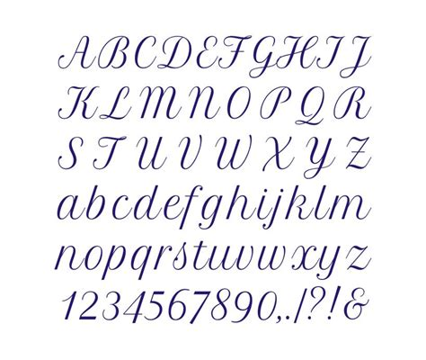 alphabet cross stitch pattern  sts tall font chart hand