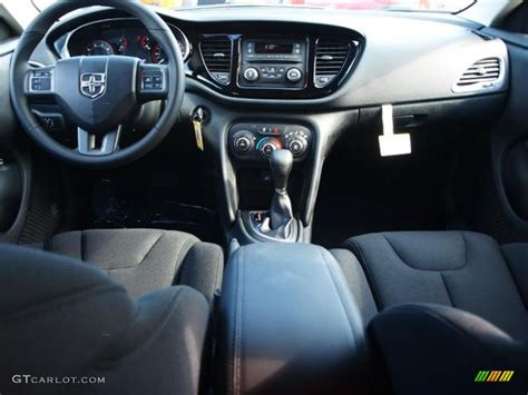 2013 Dodge Dart SXT Black Dashboard Photo #69763968