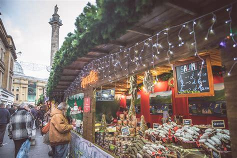 newcastle christmas market market place europe