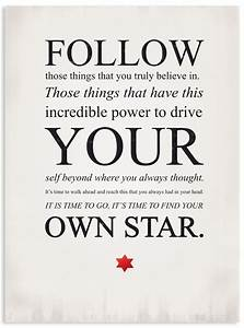 Follow Your Own... North Star Love Quotes