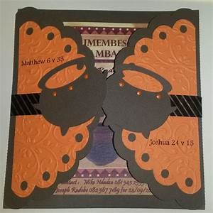 traditional zulu invite new take on existing card with With zulu traditional wedding invitations cards