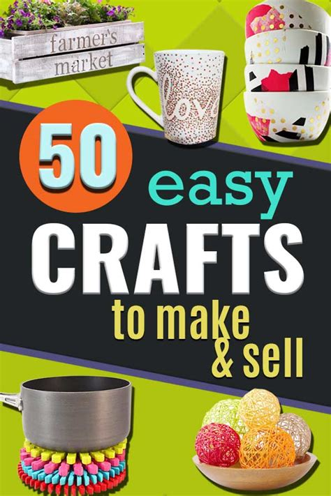 easy crafts    sell quick diy craft projects