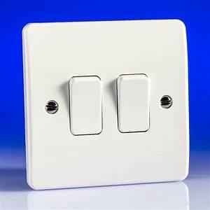 2 Gang 2 Way Light Switch