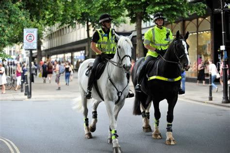 feel safer  armed police patrolling