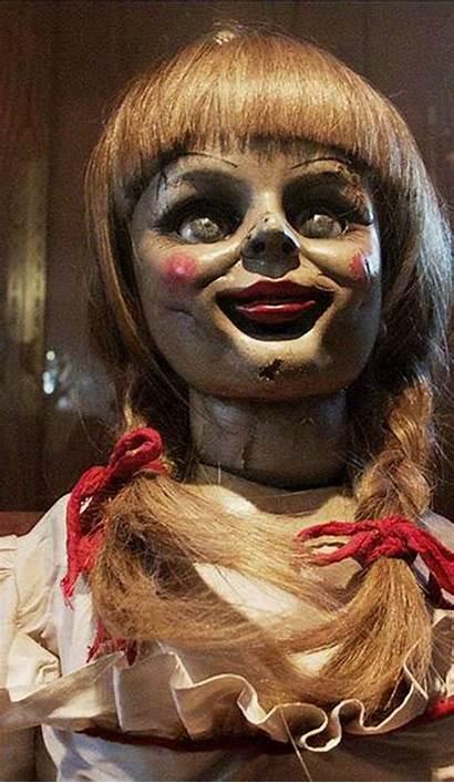 Annabelle Doll Horror Dolls Film Conjuring Haunted