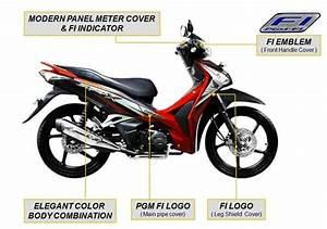 Honda Supra X 125 Helm In Pgm