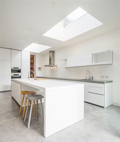 cuisine en ilot cuisine en l moderne avec îlot en 108 photos magnifiques