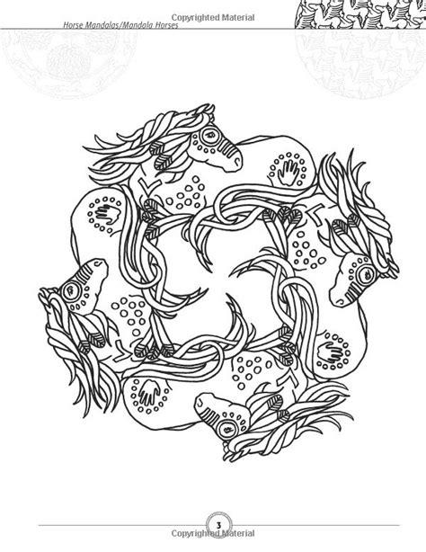 horseshoe mandala | Amazoncom Horse Mandalas / Mandala