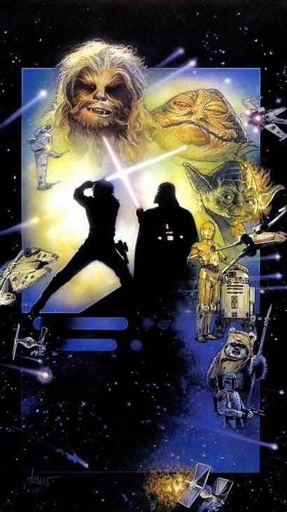 Jedi Return Wars Star Drew Struzan Episode