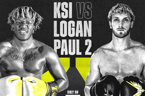 ksi  logan paul boxing rematch lands  dazn fight