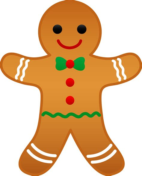 Image result for clipart gingerbread man