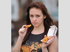 Stacey Irvine, 17, collapses after eating only McDonald's
