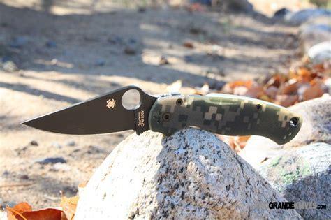 Spyderco Paramilitary 2 Knife Digi Camo G 10 (3.44 in