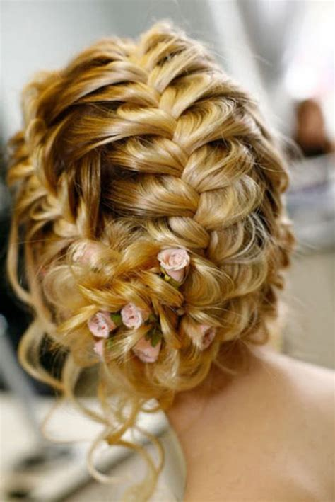 wedding braided updo hairstyles wedding trends braided hairstyles part 2 belle the