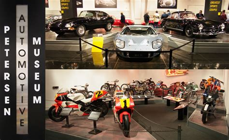 visiting  petersen automotive museum mega gallery