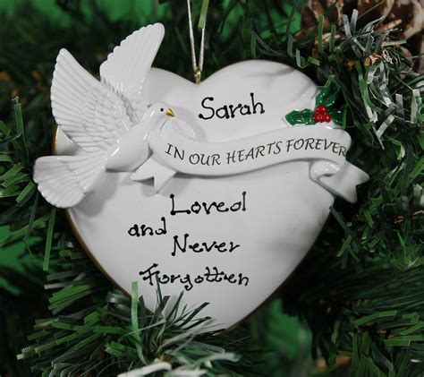 personalized christmas tree decoration ornament