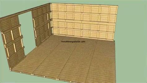 comment fabriquer un canap comment construire une maison avec des palettes