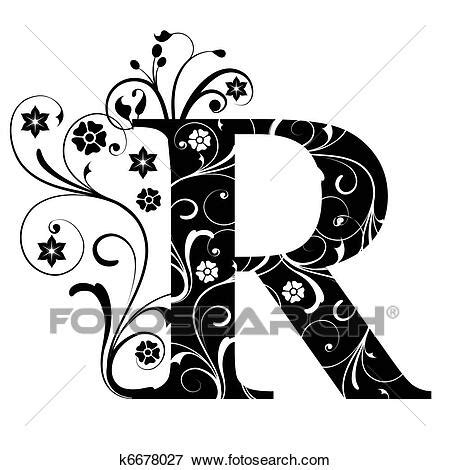 letter capital  stock illustration  fotosearch