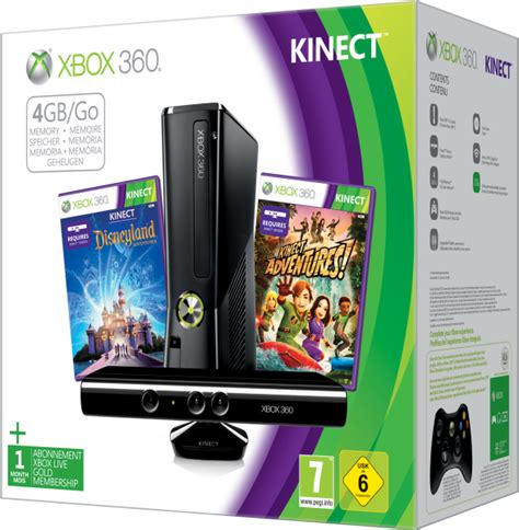 xbox  gb kinect holiday bundle includes kinect