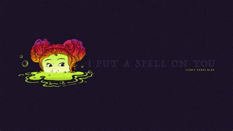 Hocus Pocus Desktop Wallpaper by Celebrate Fall With Our Hocus Pocus Inspired Wallpaper