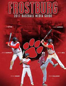 2017 Frostburg State Baseball Media Guide by Frostburg ...