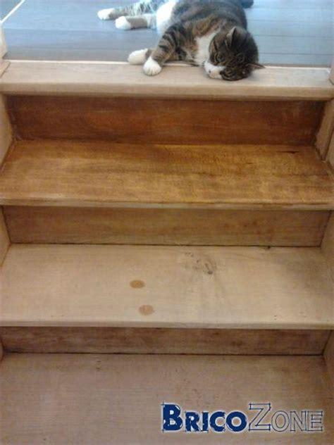 proteger escalier bois brut resine de protection pour