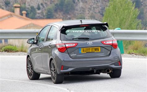door  toyota yaris grmn snapped  europe carscoops