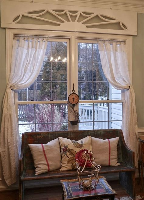 shabby chic window treatment ideas 1000 ideas about vintage window treatments on pinterest long curtains fancy bedroom and