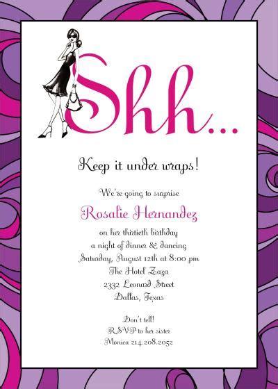 Surprise Birthday Party Invitation Template Dolanpedia