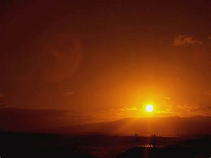 Sunset Animated Malibu Camp Word Anim Shalom