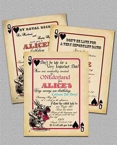 Bridal Shower Invitations Free Alice In Wonderland